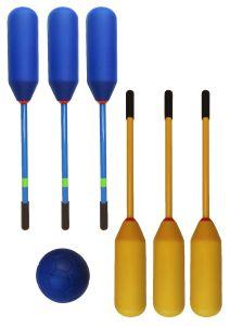 Knotsbal 6-Set Super (6 Sticks + 1 bal)