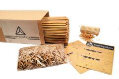 Bamboe Bouwpakket (250 stokken 90cm)