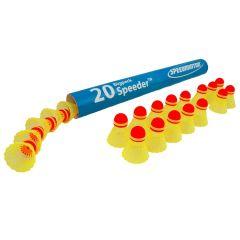 Speedminton Match Speeder koker 20 stuks