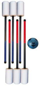 Bounceball 6-set (6 knotsen + bal)