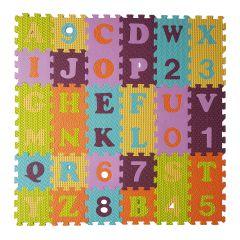 Puzzelmat Alfabet en Cijfers