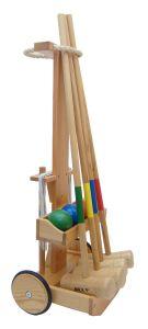 Croquet Set Deluxe in Trolley