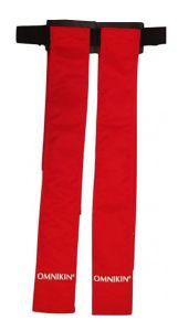 Omnikin Flagriem met 2 flags Rood