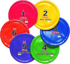Frisbee 6st. / Markeringset
