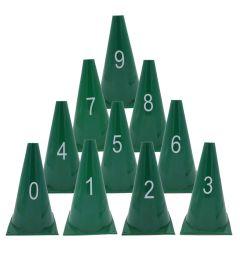 Genummerde pionnen set 0-9