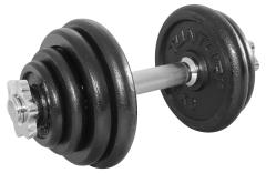 Halterset 15 kg (Tijdelijk niet op voorraad)