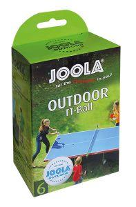 Tafeltennisballen Outdoor Verzwaard Set 6st.