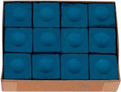 Krijt Doos 12st. blauw