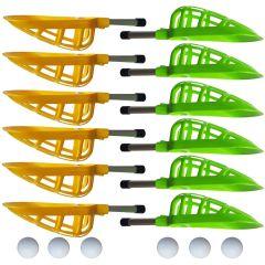 Lacrosse Set Mini Geel / Groen