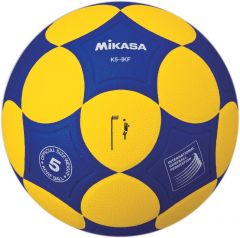 Korfbal Mikasa K5-IKF Geel / Blauw