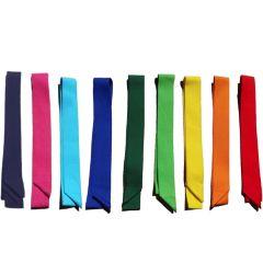 Partijlinten in 9 kleuren