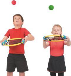 Trampo Rackets (set 6 rackets - 6 ballen)