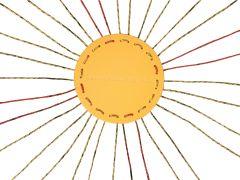 Zonnestralenspel met platform